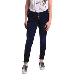 tekstylia Damskie Jeansy skinny Fornarina BER1I02D784R50 Niebieski