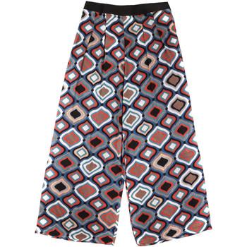 tekstylia Damskie Spodnie z lejącej tkaniny / Alladynki Fornarina BER1L08C98294 Czarny