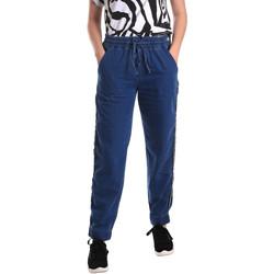 tekstylia Damskie Jeansy straight leg Fornarina SE171L93D883SK Niebieski
