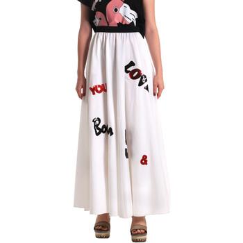 tekstylia Damskie Spódnice Fornarina SE172B94CA1609 Biały