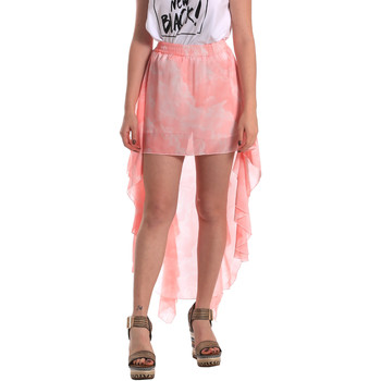 tekstylia Damskie Spódnice Fornarina SE172C07CA11C5 Różowy
