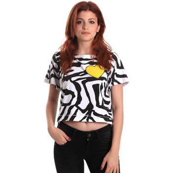 tekstylia Damskie T-shirty z krótkim rękawem Fornarina SE175L35JG0700 Czarny