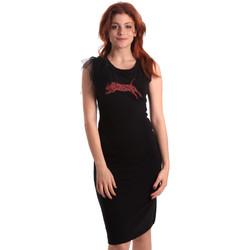 tekstylia Damskie Sukienki krótkie Fornarina SE178D55F42400 Czarny