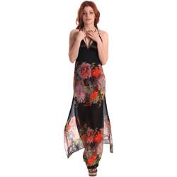tekstylia Damskie Sukienki długie Fornarina SE178D67CA0700 Czarny