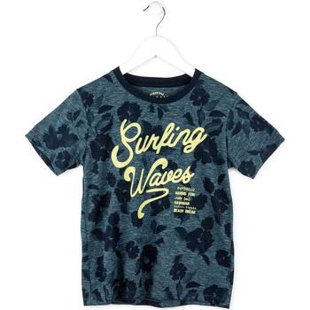 tekstylia Chłopiec T-shirty z krótkim rękawem Losan 713 1009AA Niebieski
