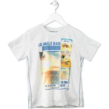 tekstylia Dziecko T-shirty z krótkim rękawem Losan 713 1021AA Szary