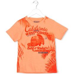 tekstylia Dziecko T-shirty z krótkim rękawem Losan 713 1022AA Pomarańczowy