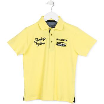 tekstylia Dziecko Koszulki polo z krótkim rękawem Losan 713 1032AA Żółty