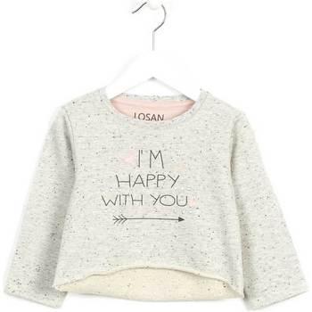 tekstylia Dziecko Swetry Losan 626 6023AD Szary