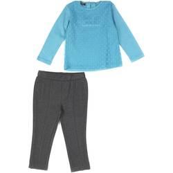 tekstylia Dziewczynka Komplet Losan 626 8027AD Niebieski