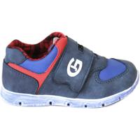 Buty Chłopiec Trampki niskie Grunland PP0157 Niebieski
