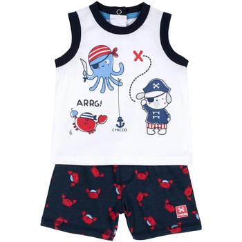 tekstylia Chłopiec Komplet Chicco 09076373000000 Niebieski