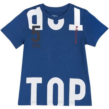 tekstylia Dziecko T-shirty z krótkim rękawem Chicco 09006586000000 Niebieski