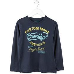 tekstylia Chłopiec T-shirty z długim rękawem Losan 713 1202AA Niebieski