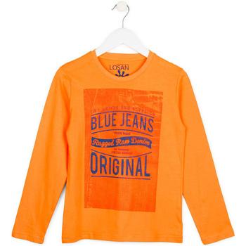 tekstylia Dziecko Swetry Losan 713 1302AA Pomarańczowy