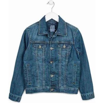tekstylia Dziecko Kurtki jeansowe Losan 713 2650AA Niebieski