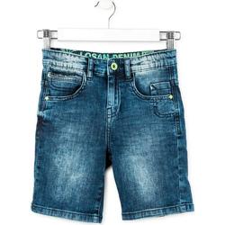 tekstylia Chłopiec Szorty i Bermudy Losan 713 9006AA Niebieski