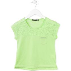 tekstylia Dziewczynka T-shirty z krótkim rękawem Losan 714 1013AB Zielony