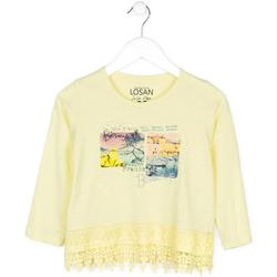 tekstylia Dziecko Swetry Losan 714 1031AB Żółty