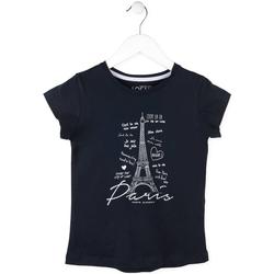 tekstylia Dziewczynka T-shirty z krótkim rękawem Losan 714 1210AB Niebieski