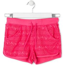 tekstylia Dziewczynka Kostiumy / Szorty kąpielowe Losan 714 6010AB Różowy