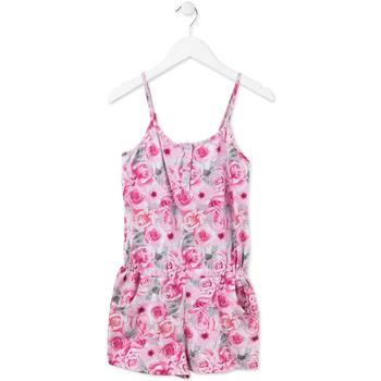 tekstylia Dziewczynka Kombinezony / Ogrodniczki Losan 714 7008AB Różowy