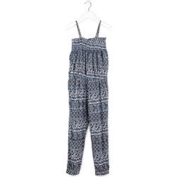 tekstylia Dziewczynka Kombinezony / Ogrodniczki Losan 714 7020AB Niebieski