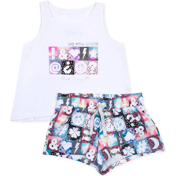 tekstylia Dziewczynka Komplet Losan 714 8000AB Biały