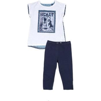 tekstylia Dziewczynka Komplet Losan 714 8002AB Niebieski