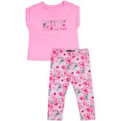 tekstylia Dziewczynka Komplet Losan 714 8004AB Różowy