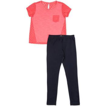 tekstylia Dziewczynka Komplet Losan 714 8008AB Różowy