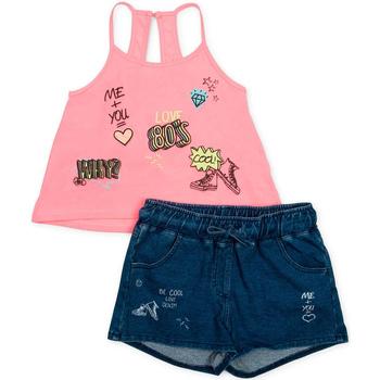 tekstylia Dziewczynka Komplet Losan 714 8010AB Różowy