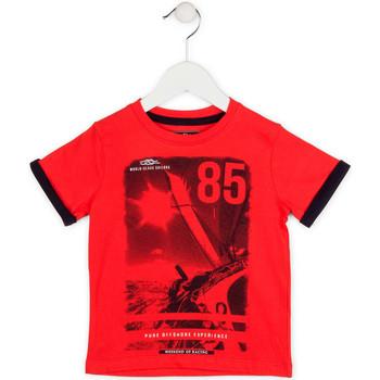 tekstylia Chłopiec T-shirty z krótkim rękawem Losan 715 1001AC Czerwony