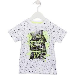 tekstylia Dziecko T-shirty z krótkim rękawem Losan 715 1008AC Biały