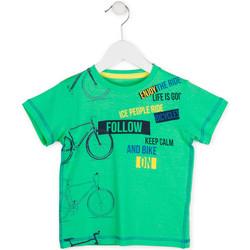 tekstylia Chłopiec T-shirty z krótkim rękawem Losan 715 1014AC Zielony