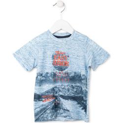 tekstylia Chłopiec T-shirty z krótkim rękawem Losan 715 1018AC Niebieski