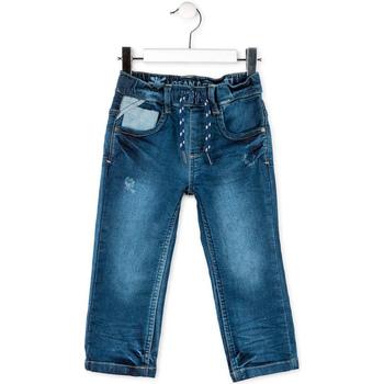 tekstylia Dziecko Jeansy straight leg Losan 715 6012AC Niebieski