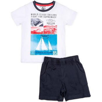 tekstylia Chłopiec Komplet Losan 715 8042AC Biały