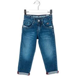 tekstylia Dziecko Jeansy straight leg Losan 715 9016AC Niebieski