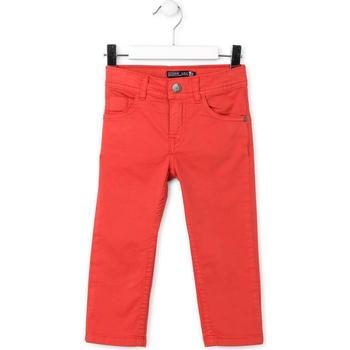 tekstylia Dziecko Spodnie z pięcioma kieszeniami Losan 715 9650AC Czerwony