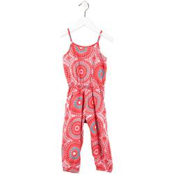 tekstylia Dziewczynka Kombinezony / Ogrodniczki Losan 716 7027AD Różowy