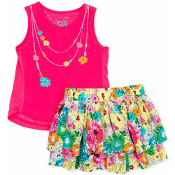 tekstylia Dziewczynka Komplet Losan 716 8001AD Różowy