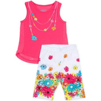 tekstylia Dziewczynka Komplet Losan 716 8002AD Różowy