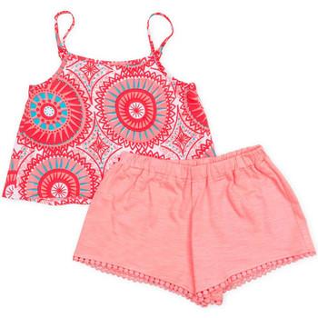 tekstylia Dziewczynka Komplet Losan 716 8009AD Różowy