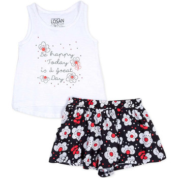 tekstylia Dziewczynka Komplet Losan 716 8013AD Biały