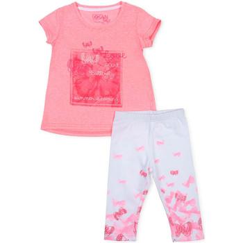 tekstylia Dziewczynka Komplet Losan 716 8014AD Różowy