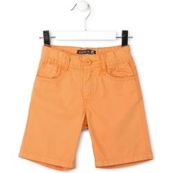 tekstylia Chłopiec Szorty i Bermudy Losan 715 9655AC Pomarańczowy