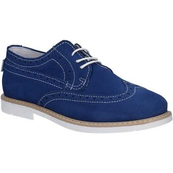 Buty Chłopiec Derby Melania ME6045F7E.G Niebieski