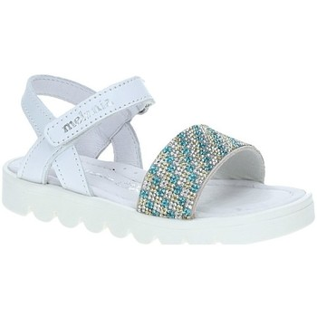 Buty Dziewczynka Sandały Melania ME4007DE.A Biały