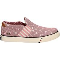 Buty Dziewczynka Tenisówki Wrangler WG17121 Różowy